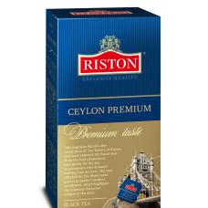 """Чай черный Riston """"CEYLON PREMIUM"""", 40 пак."""