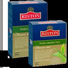 """Чай зеленый Riston """"PURE GREEN TEA"""", 100 г."""