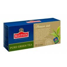 "Чай зеленый Riston ""PURE GREEN TEA"", 25 пак."
