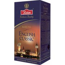 """Чай черный Riston """"English classic"""", 25 пак."""