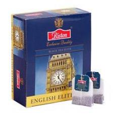 """Чай черный Riston """"ENGLISH ELITE TEA"""", 50 пак."""