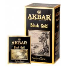 Чай черный AKBAR «BLACK GOLD», 25 пак.