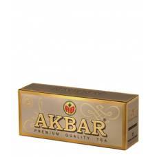 Чай черный AKBAR «GOLD», 25 пак.