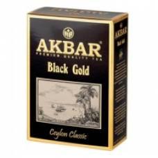Чай черный AKBAR «BLACK GOLD», 100 пак.