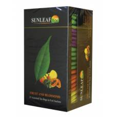 "Чай SUNLEAF ""Fruits and blossoms"", 48 пак."