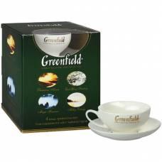Подарочный набор чая Greenfield с чашкой, 100 пак.
