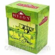 """Зеленый чай Hyson """"Зеленый с бергамотом"""", 125г"""