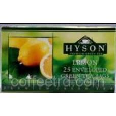 "Зеленый чай Hyson ""Лимон"", 25 ф/п"