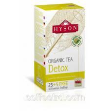"""Чай Hyson """"Detox (Детокс)"""", 30 ф/п"""