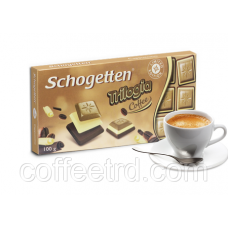 "Шоколад SCHOGETTEN ""Trilogia Coffee"",100 Г - цены и фото от CoffeeTRD"
