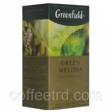 """Зеленый чай Greenfield  """"Green Melissa"""", 25 пак."""