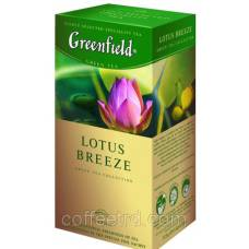"Чай зеленый Greenfield  ""Lotus Breeze"", 25 пак."