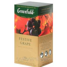 "Чай травяной Greenfield  ""Festive Grape (Виноград)"", 25 пак."