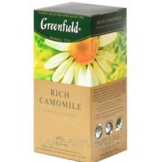 """Чай травяной Greenfield  """"Rich Camomile (Ромашка и мята)"""", 25 пак."""