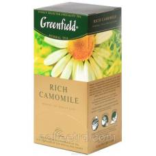 "Чай травяной Greenfield  ""Rich Camomile"", 100 пак."