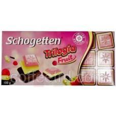 "Шоколад SCHOGETTEN ""Trilogia Fruit"",100 Г"