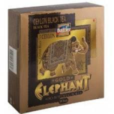 """Чай черный Battler """"Elephant Gold (Золотой слон)"""", 100 пак."""