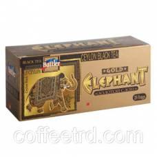 """Чай черный Battler """"Elephant Gold (Золотой слон)"""", 25 пак."""