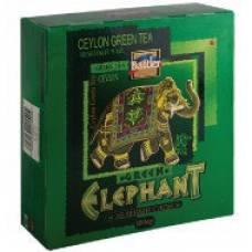 "Чай зеленый Battler ""Elephant Green (Зеленый слон)"", 100 пак."
