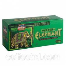 "Чай зеленый Battler ""Elephant Green (Зеленый слон)"", 25 пак."