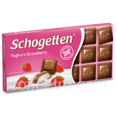 "Шоколад SCHOGETTEN ""Yoghurt-Strawberry"",100 Г"