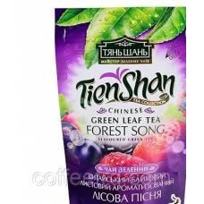 """Китайский зеленый чай Тянь Шань """"Forest Song (лесные ягоды)"""""""