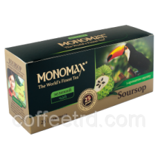 Чай зеленый Мономах «Soursop», 25 пак.