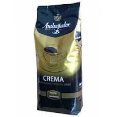 Кофе Ambassador Crema 1кг (зерно)