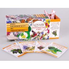 "Цветочный чай Lovare ""Ассорти"", 25 пак."
