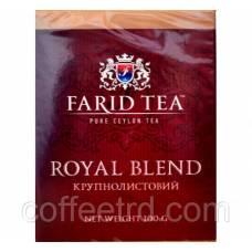 Черный чай Farid tea «Royal Blend (Королевский завтрак)», 100г