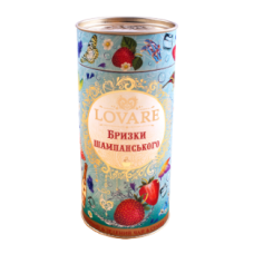 "Черный чай Lovare ""Брызги шампанского"", 80г."