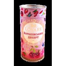 """Черный чай Lovare """"Королевский десерт"""", 80г."""