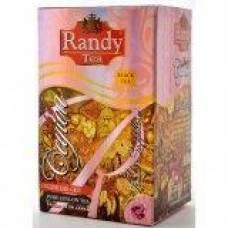Черный чай RANDY «Розовый сапфир» Граф Грей BOPF, 2г*20 пакет-конвертов
