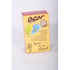 Сахар тростниковый Acor картон 1 кг (россыпь)