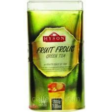 """Зеленый чай Hyson """"Фруктовый праздник"""", 200г"""