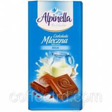 Шоколад молочный Alpinella, 90 г