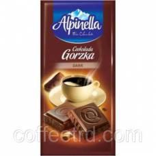 """Шоколад молочный Alpinella """"Czekolada Gorzka Dark""""(Альпинелла черный горький), 90 г"""