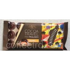 "Черный шоколад Baron ""Cocoa Travel Mini Pralines Madagascar (Карамель)"", 100г"