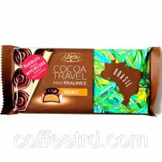 "Черный шоколад Baron ""Cocoa Travel mini Pralines Orange"", 100г"