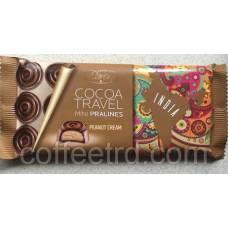 """Черный шоколад Baron """"Cocoa Travel Mini Pralines India (с арахисовой пастой)"""", 100г"""
