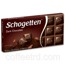 "Шоколад SCHOGETTEN ""Dark Chocolate"",100 Г"