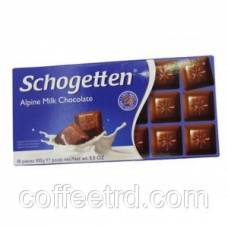 "Шоколад SCHOGETTEN ""Alpine Milk Chocolate"", 100 Г"