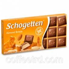 "Шоколад SCHOGETTEN ""Almond Brittle (Мигдальный грильяж)"",100 Г"