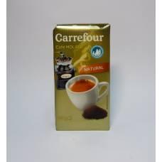 Кофе Carrefour Natural 0.25 кг молотый