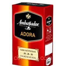 """Кофе молотый Ambassador """"Adora"""", 250г."""