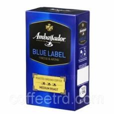 """Кофе молотый Ambassador """"Blue Label"""", 250г."""