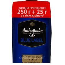"""Кофе молотый Ambassador """"Blue Label"""", 250г. + 25г."""