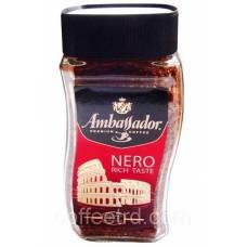 """Кофе растворимый Ambassador """"Nero rich taste"""", 190г."""