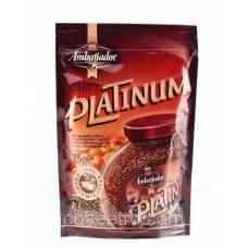 """Кофе растворимый Ambassador """"Platinum"""", 100 г."""