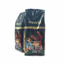 Кофе Hacendado №4 Mezcla Sabor Fuerte 1 кг зерно 50/50